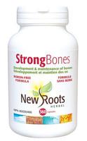 New Roots Strong Bones Boron-Free, 360 Capsules | NutriFarm.ca