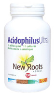 New Roots Acidophilus Ultra, 250 Capsules | NutriFarm.ca
