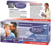 Bell Eroxil Vigility For Men 557 mg, 30 Capsules | NutriFarm.ca