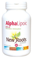 New Roots Alpha Lipoic 250 mg, 60 Capsules | NutriFarm.ca