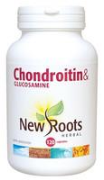 New Roots Chondroitin & Glucosamine 900 mg, 120 Capsules | NutriFarm.ca