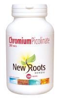 New Roots Chromium Picolinate 200 mcg, 100 Capsules | NutriFarm.ca