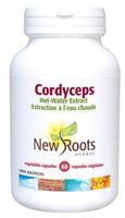 New Roots Cordyceps 500 mg, 60 Capsules | NutriFarm.ca
