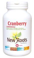 New Roots Cranberry 600 mg, 60 Capsules | NutriFarm.ca