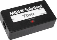 MIDI Solutions 1 in 2 out MIDI Thru Box