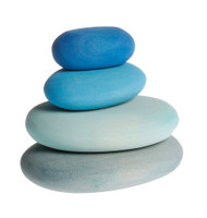 Wood River Pebbles 4pcs