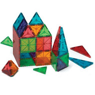 Magna-Tiles 100pc Clear Colors