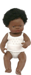 Baby Doll African Girl 15""