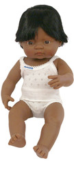 Baby Doll Hispanic Boy 15""