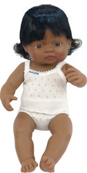 Baby Doll Hispanic Girl 15""