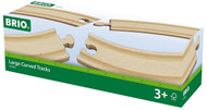 Brio Long Curved Tracks