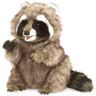 Raccoon Puppet Large