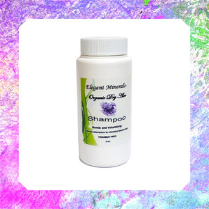 3oz. Organic Waterless Dry Aloe Shampoo - Lavender Rosemary