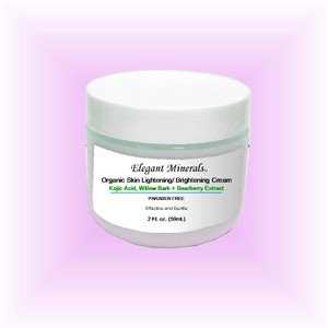 2oz Organic Skin Lightening / Brightening Cream