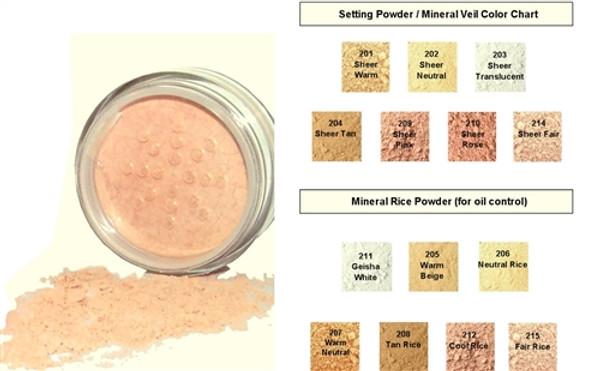 WHOLESALE Natural Mineral Makeup Distributor Starter Kit