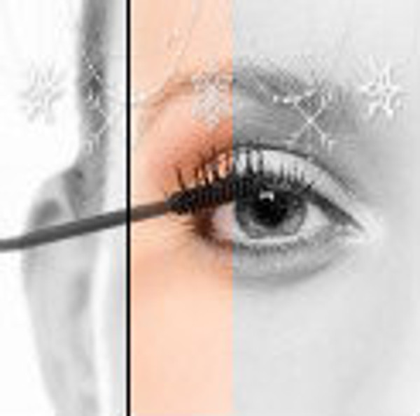Naturally define your eyes with mascara specifically designed for sensitive eyes.