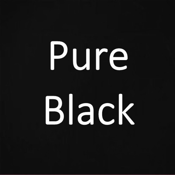 """PURE BLACK"" Natural Mineral Eyebrow Pencil on SALE"