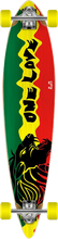 Punked - Rasta Ii Pintail Lb Complete - 9x39.75 Ppp - Complete Skateboard