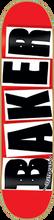 Baker - Brand Logo Deck Black - 7.88 - Skateboard Deck