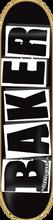 Baker - Brand Logo Deck - 8.0 Blk / Wht - Skateboard Deck