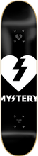 Mystery - Heart Logo Deck - 8.25 - Skateboard Deck