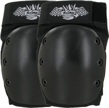 Smith - Scabs Crown Park Knee Pads S - Black - Skateboard Pads