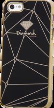 Diamond - Iphone5 Snap - On Case - Lines Black
