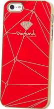 Diamond - Iphone5 Snap - On Case - Lines Red
