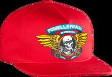Powell Peralta - Winged Ripper Hat Adj-red