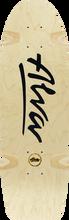 Alva - Bela Reissue Deck-8.5x27 Nat/blk - Skateboard Deck