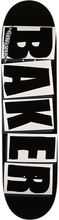 Baker - Brand Logo Deck-8.12 Blk/wht - Skateboard Deck