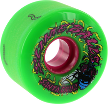 Santa Cruz - Slimeballs Maggots 60mm 78a Green - Skateboard Wheels (Set of Four)