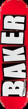 Baker - Brand Logo Deck-8.12 Red/white - Skateboard Deck