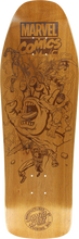 Santa Cruz - Marvel Battle Engraved Deck-10x31.3 Collectable - Skateboard Deck