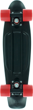"Penny Skateboard - 22"" Complete Midnight Blk/red"