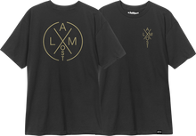 Almost - Noble Ss M - black - Skateboard Tshirt