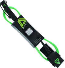 Arcade - Welter Weight 6' Leash Lime/blk 7.0mm - Surfboard Leash