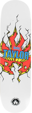 Black Label - Taylor Breakout Deck - 8.25 Wht - Skateboard Deck