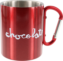 Chocolate - Carribiner Mug Metallic Red