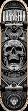 Darkstar - Crest Complete - 7.75 Silver - Complete Skateboard