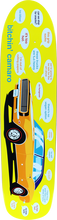 Enjoi - Bitchin 67 Camaro Deck - 7.75 Yellow R7 - Skateboard Deck