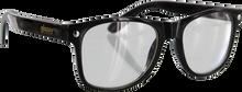 Glassy Sunhaters - Leonard Blk/clear Sunglasses