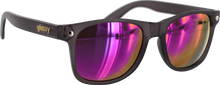 Glassy Sunhaters - Leonard Dark Grey/purple Mirror Sunglasses