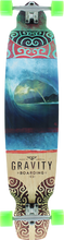 Gravity - Drop Kick Rainbow Barrel Complete - 9.5x43 - Complete Skateboard