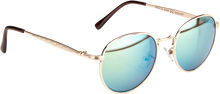 Happy - Hour Hawk Holidaze Gold/grn Sunglass