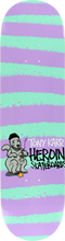 Heroin - Karr Striped Icon Deck - 8.25 - Skateboard Deck
