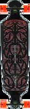 Kahuna Big Stick - Drop 43 Wave Complete - 10.5x43 Blk/red - Complete Skateboard