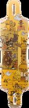 Kebbek - Smoothcut 37 Skatehouse Deck - 9.3x37 Yel - Longboard Deck
