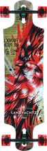 Landyachtz - Maple Drop Hammer Cardinal Complete - 10x36.5 - Complete Skateboard