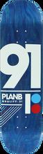 Plan B - B Team 91 Deck - 8.25 - Skateboard Deck